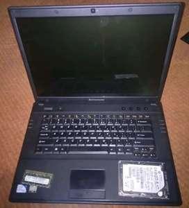Vendo lenovo G530-446 SIN PILA Y SIN CARGADOR SOLO GENTE SERIA 250GB de disco y 2 de RAM