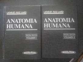 Anatomia Humana Latarjet-Ruiz Llaro Tomo I y II (3er edición)