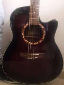 Vendo Guitarra Electro Acústica.