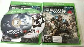 Gears Of War 4 Xbox One Físico Español, Promocion, Negociable