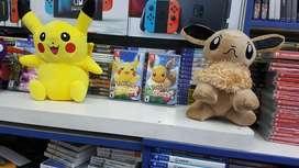 pokemon pikachu o eevee Nintendo Switch