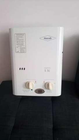 Vendo calentador haced 5.5 litros como nuevo