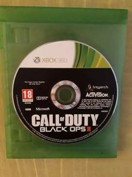 Juego call of Duty Black Ops ll para Xbox 360 y one