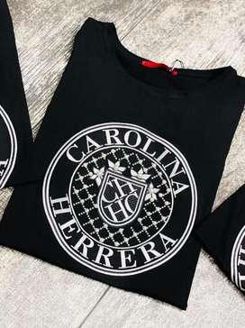 Camisetas femeninas 2206 carolina herrera envio gratis