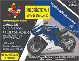 PRIMEROS AUXILIOS EN MECANICA DE MOTOCICLETAS