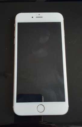 Iphone 6s plus 32g excelente estado con coja