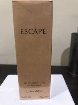 Perfume Escape Nuevo Para Mujer