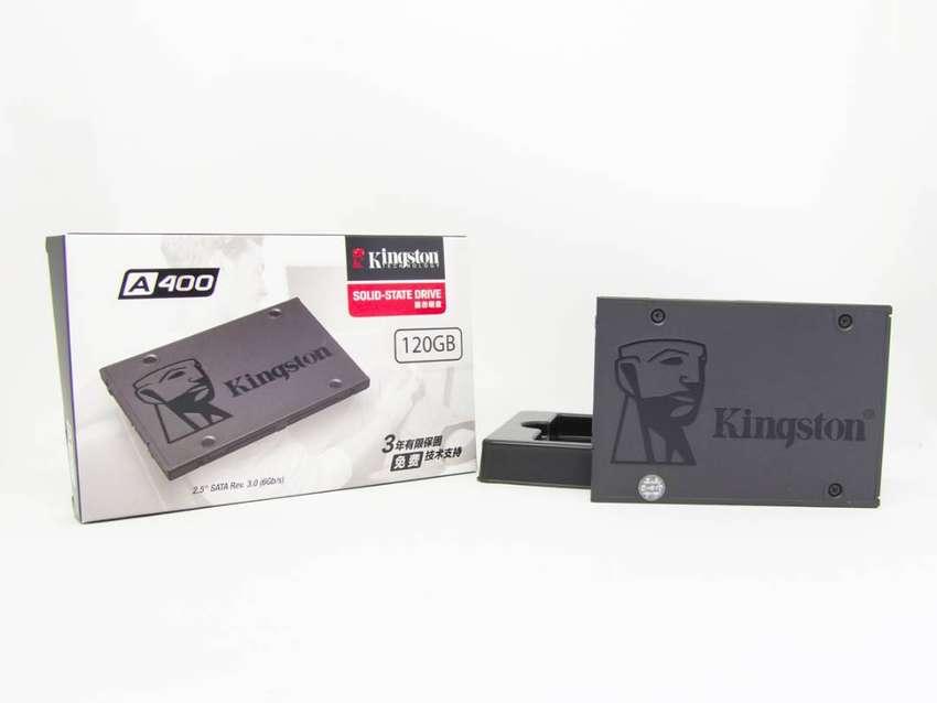 SSD Disco de estado sólido Sata Kingston A400 120 gigas. 0
