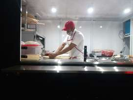 Remolque de comidas rapidas 1 mes de uso precio negociable