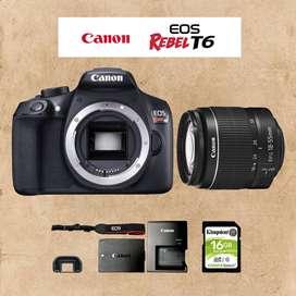 Cámara Reflex Canon t6