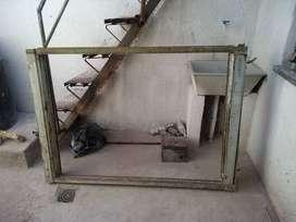ventana chapa con cortina a rollo $2000