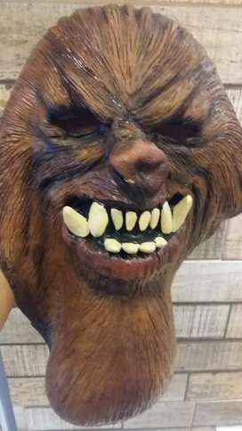Máscara careta  de chuwaka original de TNT de latex