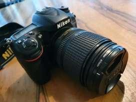Cámara Nikon D7100 + Lente Nikkor 18 105mm