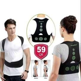 Corrector de postura y soporte de postura ajustable