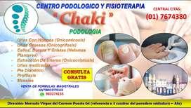 podologia y fisioterapia en ate