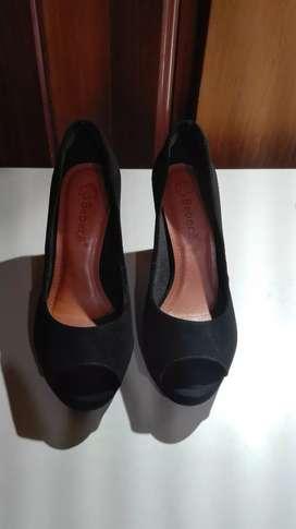 Zapatos de gamuza verano nuevo talle 39