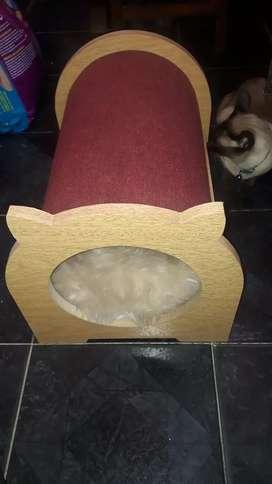 Cucha rascador para gatos