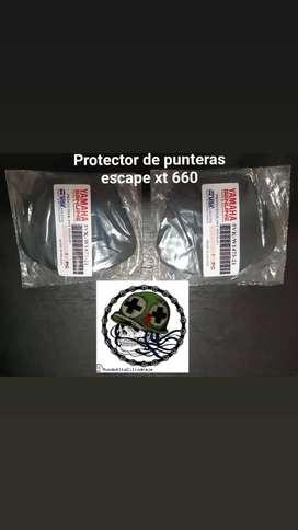 Protectores de Exosto de Xt 660