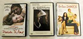 Películas DVD originales: PD Te Amo, El Sustituto y En sus zapatos