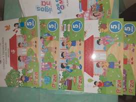 Paquete de Libros Piza Inicial 5años