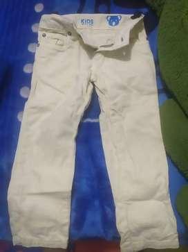 Pantalón niño Arturo calle kids talla 2-3