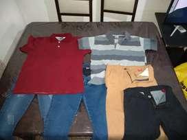 Lote de ropa masculina