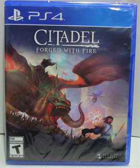CITADEL FORGET WITH FIRE- PS4