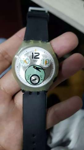 Reloj swatch ultra plano