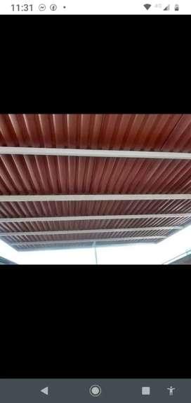 Venta de tejas termo acústicas