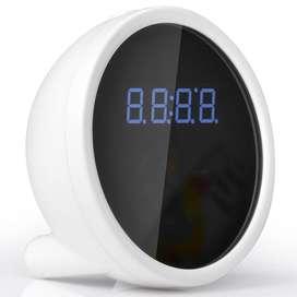 W40 Cámara Espía Reloj Alarma Mesa Escritorio Wifi P2p Onvif FullHD