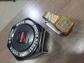 Vendo reloj casio retro dorado nuevo