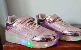 Zapatos patines de niña!!!