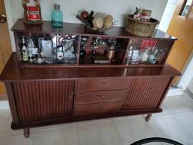 Mueble Bifé madera arteco