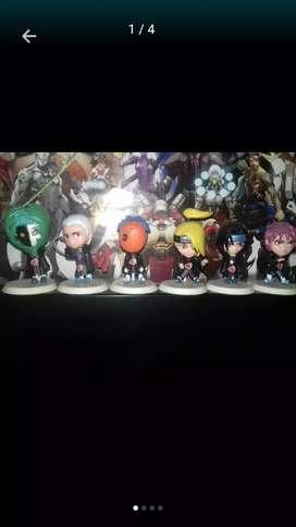 Figuras de Naruto (Akatsuki)