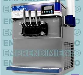 Máquina para helado suave 3 boquillas