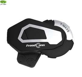 Intercomunicador Bluetooth T-maxs Radio Fm Moto Freedconn