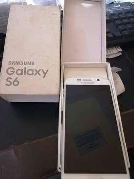 Se Vende S6 Normal de 32 GB. Estado 10/10
