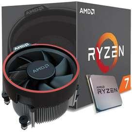 Procesador Ryzen 7 2700 16 nucleos 4.1 Amd Gaming Nuevo Sellado