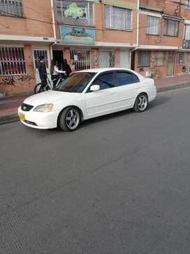 Venta carro honda civic 2002