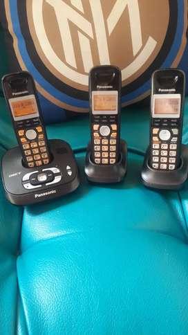 Trio Panasonic con contestador automatico