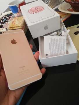 Iphone 6s plus 32gb rosa