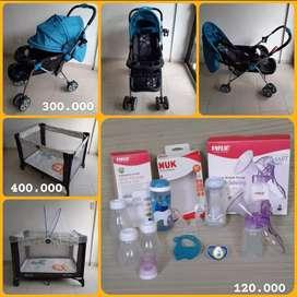 Artículos para bebé en excelente estado. Cuna400.000. Coche300.000. Set teteros y extractor leche 120.000