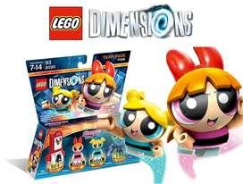 LEGO Dimensions Chicas Superpoderosas Team Pack Powerpuff – 93 Piezas