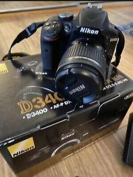 Camara Nikon D3400 18-55 vr kit