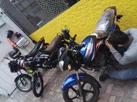 Silicitamos domiciliario para moto horario de 10 am a 9 am tener documentos para manejar moto si es venezolano.