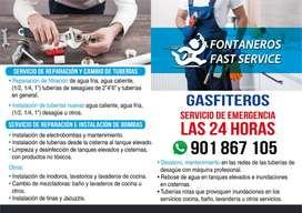 Servicio de Gasfiteria