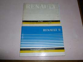 MANUAL de RENAULT 9