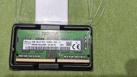 Memoria 4gb 1Rx16 PC4 2666V para Notebook