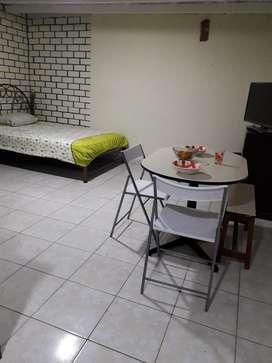 Mini Dpto Amoblado Centro  de Lima.