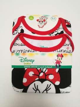Set para niñas de dos piezas Minnie 12 meses